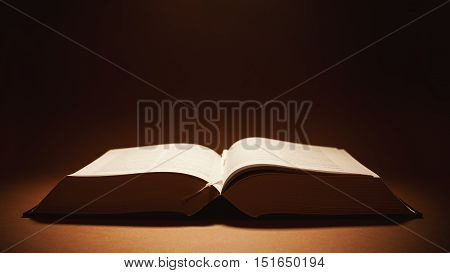 Open Thick Book