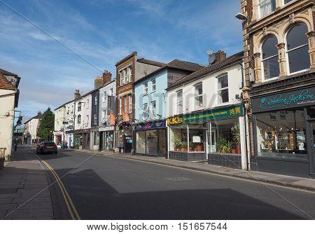 View Of The City Of Salisbury