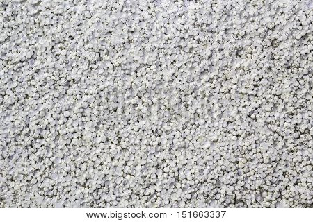 Seamless background and texture of white foamed polystyrene sheet