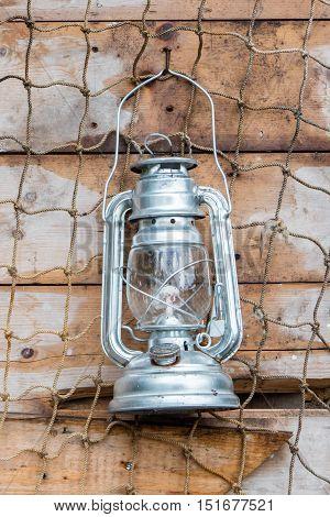 Old Kerosene Lamp Hanging