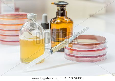 Reagent For Biochem Tests For Identifield Pathogen.