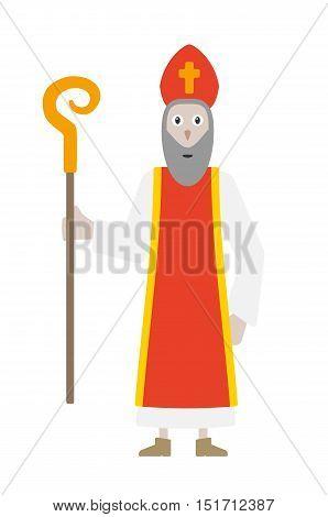 Saint Nicholas In Bishop's Clothing