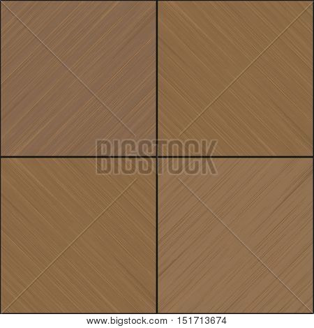 Texture of wooden veneered panels or interior facade in vector graphics