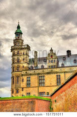 Kronborg Castle, known as Elsinore in the Tragedy of Hamlet - Helsingor, Denmark