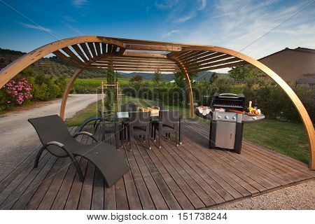 Barbecue With Grill