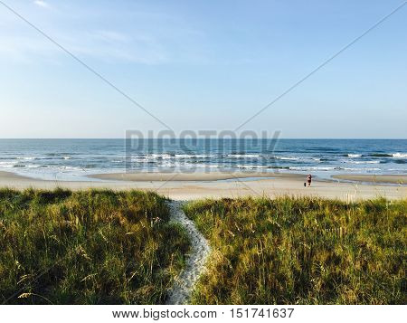 Holden Beach, beautiful and quiet, but powerful as well.