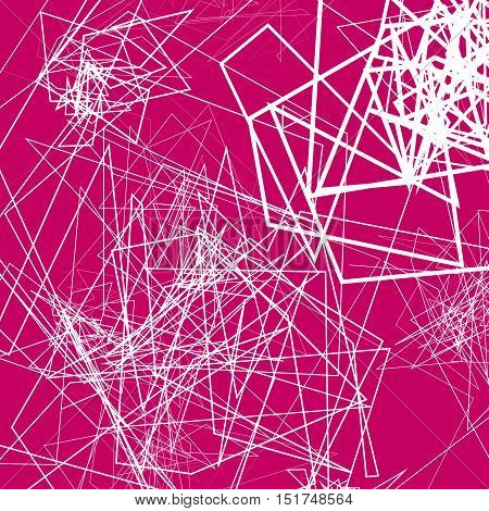 Random Sketchy Lines Abstract Monochrome Background, Pattern