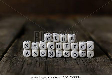 letter on wooden table addiction treatment help
