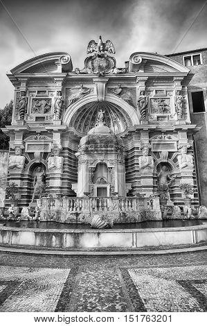 The Fountain Of The Organ, Villa D'este, Tivoli, Italy