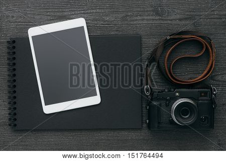 Photo Album With Camera