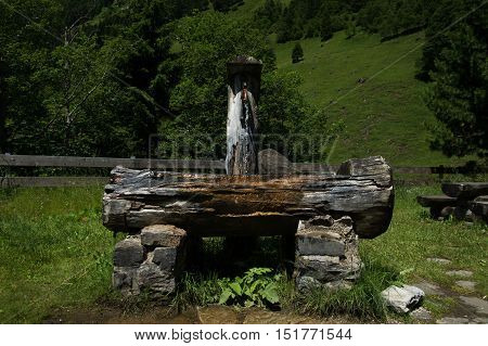 Dew Pond At The Grossglockner High Alpine Road, Austria
