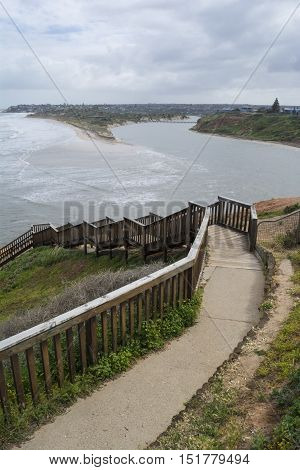 Southport Beach After The Storms And Floods, Fleurieu Peninsula, South Australia