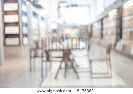 Image Of Blur People At Modern Office For Background Usage