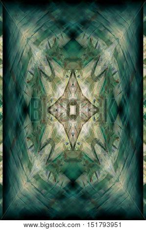 Symmetrical Color Background