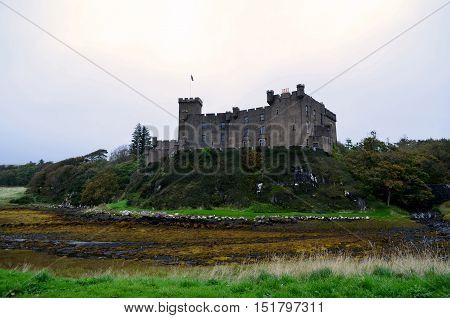 Home of Clan MacLeod in Dunvegan Scotland.