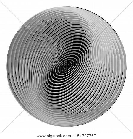 Design Monochrome Ellipse Background
