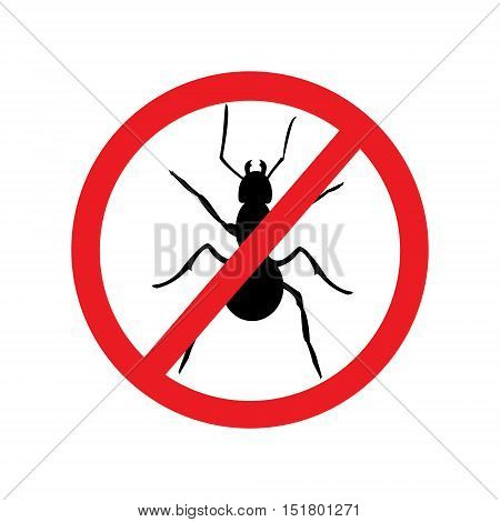 No Ant Sign