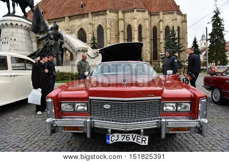 Cadillac Eldorado Vintage Red Car