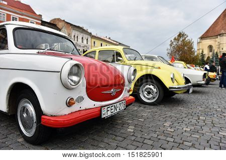 Vintage, Old Cars Parade