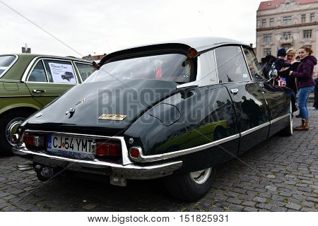 French Vintage Car. Citroen D521