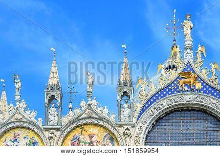 Basilica San Marco In Venice, Italy