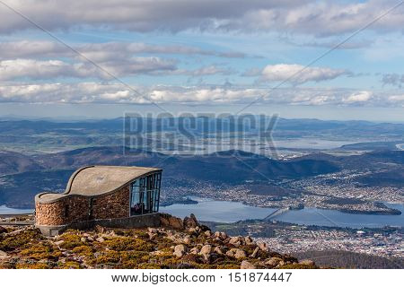 Mount Wellington Lookout Structure, Tasmania