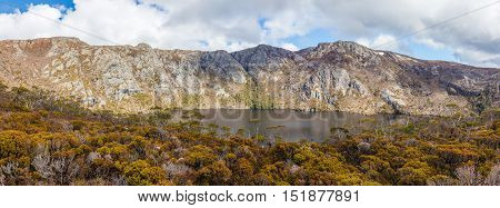 Crater Lake On The Way To Marions Lookout In Cradle Mountain National Park, Tasmania