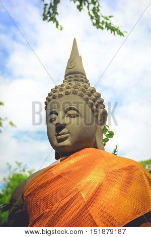 Gautama, Shakyamuni or simply the Buddha, was an ascetic and sage, on whose teachings Buddhism was founded