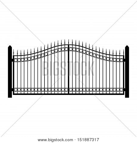 Gate Fence Vector