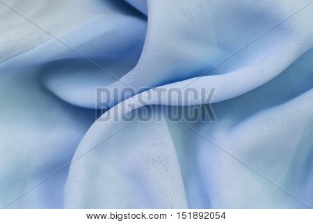 silk texture of crumpled tissue in the crease pattern for backgrounds and textures poster