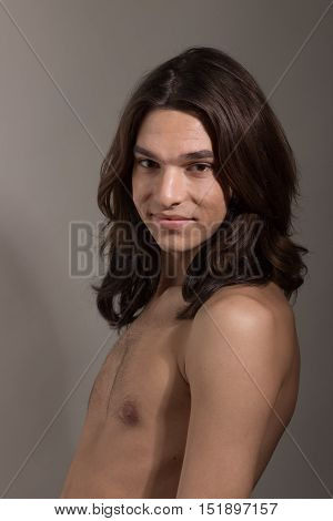 Male Female Man Woman Transgender Transsexual Portrait