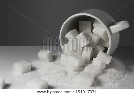 A Cup With Lump Sugar