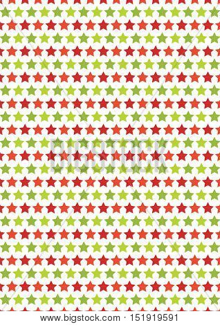 Star Seamless Texture Chrstmas Paper Background;