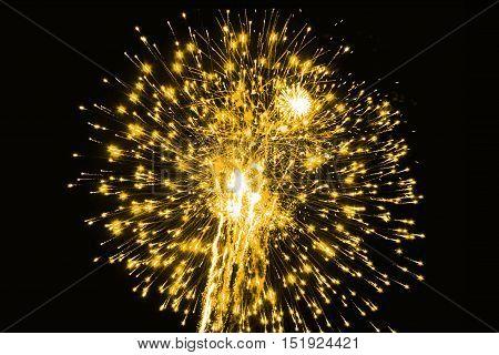 Amazing fireworks,fireworks, fireworks 2017, fireworks background, fireworks event, Fireworks Festival,GOLD