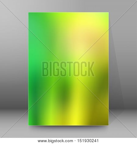 Background Report Brochure Cover Pages A4 Style Abstract Glow36