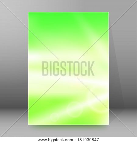 Background Report Brochure Cover Pages A4 Style Abstract Glow40