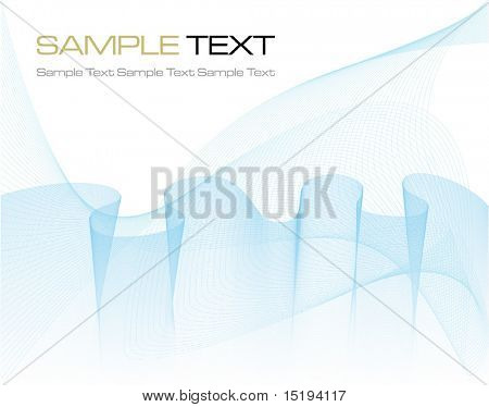 blue futuristic background - vector illustration