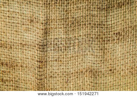 burlap texture background. Can be used as background
