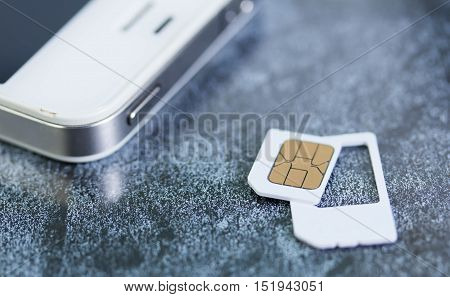 SIM card and the smart phone New Technology