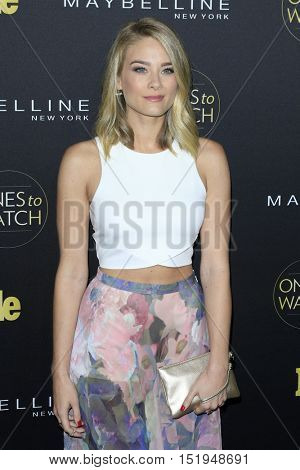 LOS ANGELES - OCT 13:  Kim Matula at the People's One to Watch Party at the E.P. & L.P on October 13, 2016 in Los Angeles, CA