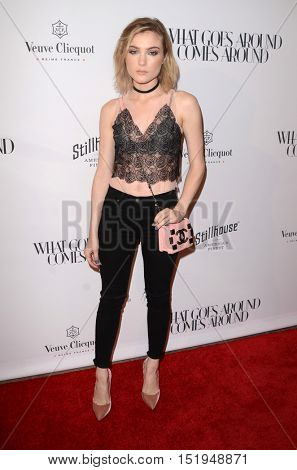 LOS ANGELES - OCT 13:  Skyler Samuels at the What Goes Around Comes Around Boutique Grand Opening at the What Goes Around Comes Around Boutique on October 13, 2016 in Beverly Hills, CA