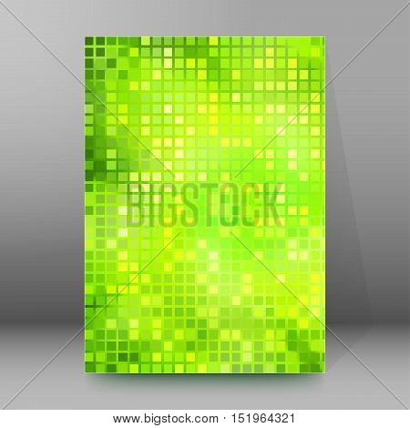 Background Report Brochure Cover Pages A4 Style Abstract Glow86