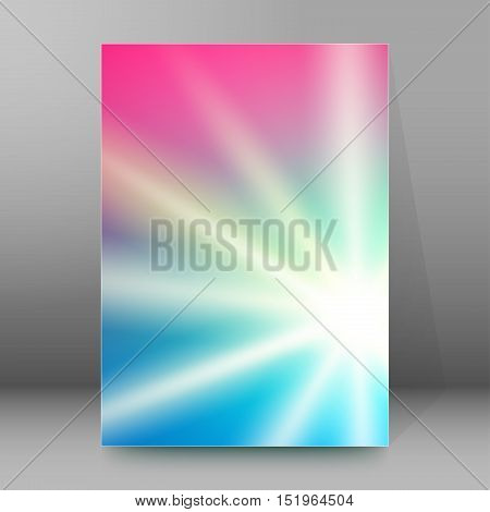 Background Report Brochure Cover Pages A4 Style Abstract Glow88