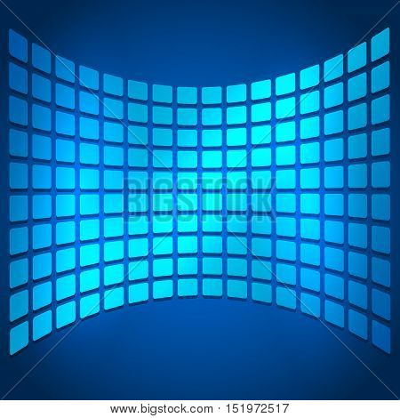 Background Report Brochure Cover Pages Style Abstract Glow01