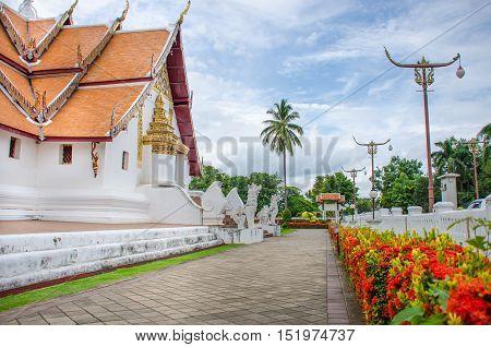 Wat Phumin temple lanna style. Nan province Thailand