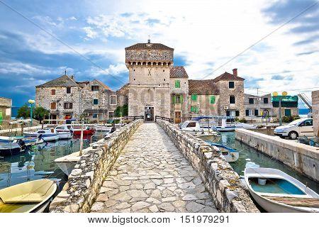 Historic architecture of Kastel Gomilica Split Croatia