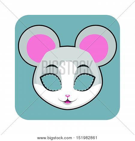 Mouse Mask For Halloween And Other Festivities