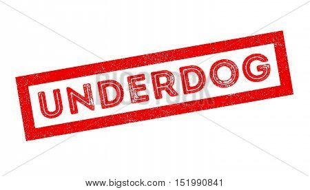 Underdog Rubber Stamp