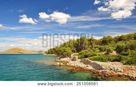 Kornati Islands National Park. Landscape In The Adriatic Sea.croatia.