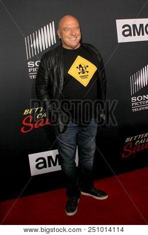 Dean Norris arrives at the AMC's